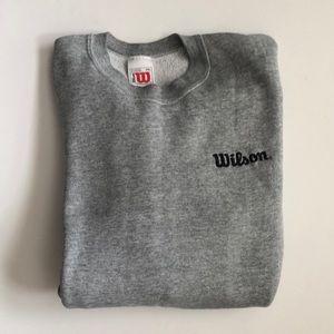 Wilson gray sweatshirt w/logo